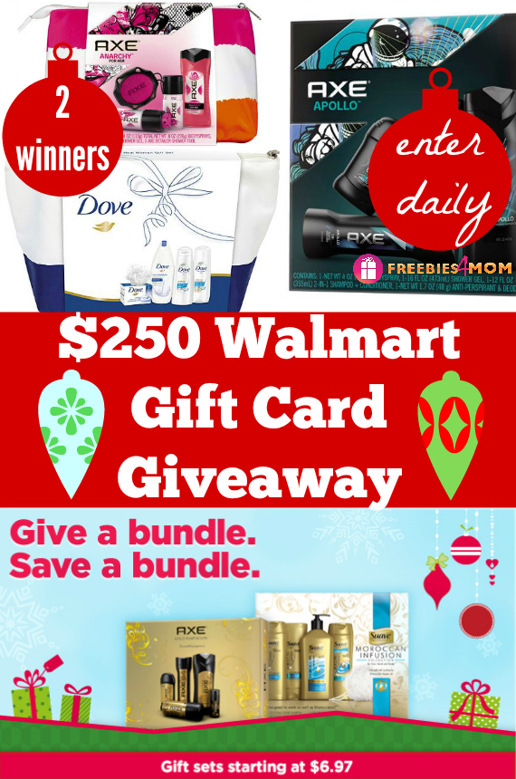 $250 Walmart Gift Card Giveaway ~ Stock Up on Holiday Gift Sets