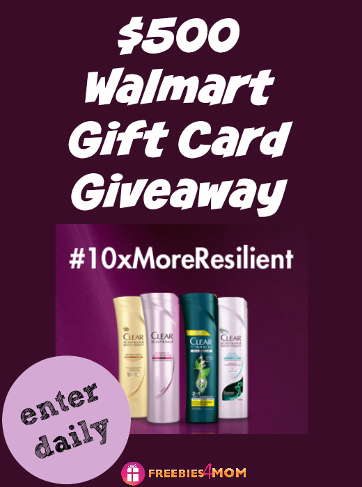 $500 Walmart Gift Card Giveaway ~ Clear Hair 10x Challenge