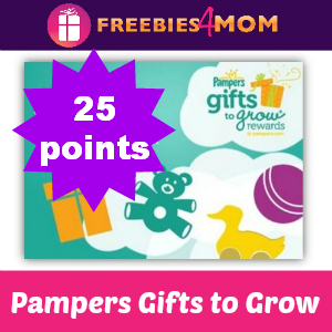 25 Pampers Gifts to Grow Points