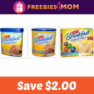 Coupon: Save $2.00 on Carnation Breakfast