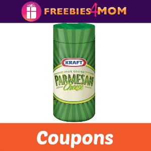 Coupon: Save $0.75 off Kraft Parmesan Cheese