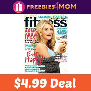 Magazine Deal: Fitness $4.99