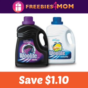 Coupon: $1.10 off one Woolite
