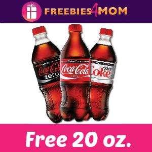 Free 20 oz Coca Cola at Target