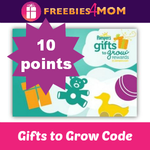 Pampers 10 Gifts to Grow Points