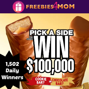 Sweeps Twix Pick a Side (1,502 Daily Winners)