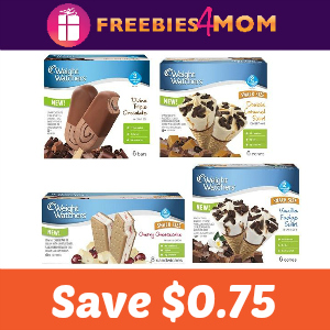 Coupon Save $0.75 on any Weight Watchers