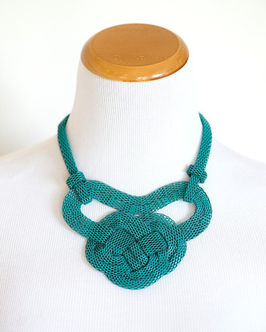 Metal Rope Necklace $7.95 with Free Shipping