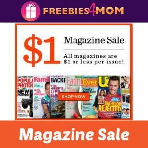 Magazine Sale: $1 (or less!) per Issue