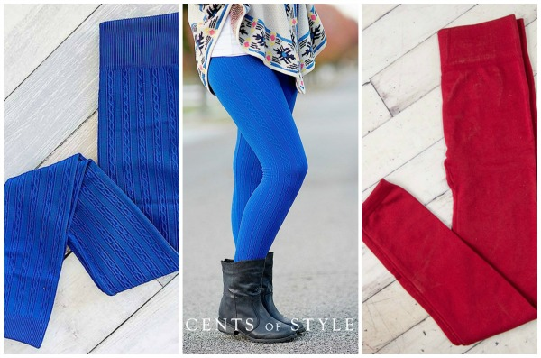 Leggings $8.95 + Free Shipping