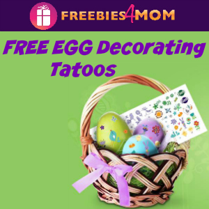 Free Egg Decorating Tatoos