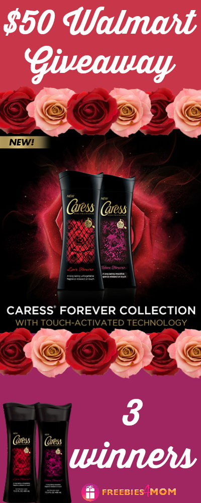 $50 Walmart Gift Card Giveaway (3 winners) ~ Experience #Caress12Hour
