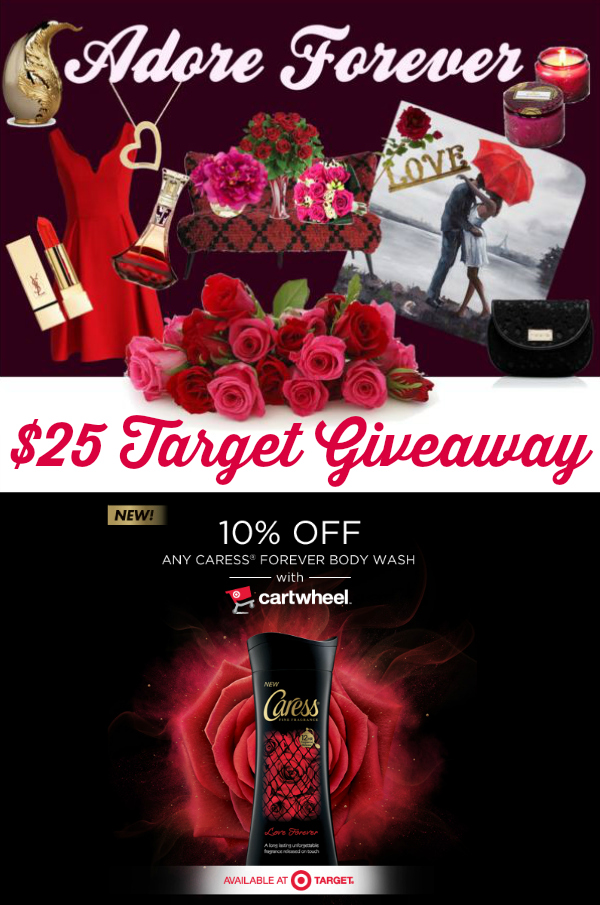 $25 Target Gift Card Giveaway ~ Caress® Forever Collection