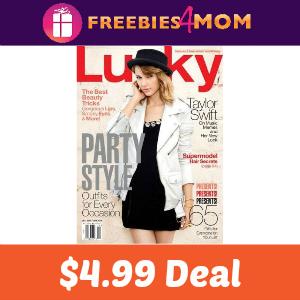 Magazine Deal: Lucky $4.99