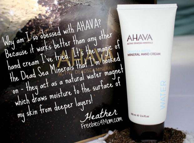 AHAVA Mineral Hand Cream