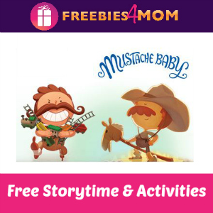 Mustache Baby Storytime at Barnes & Noble