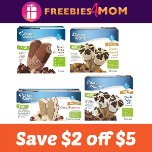 Coupon: $2 off $5 Weight Watchers Products