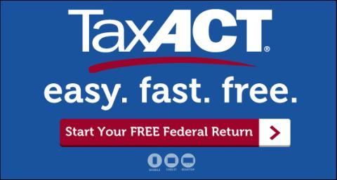 TaxAct Free Federal Tax Return Filing