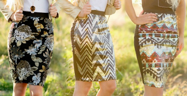 $14.95 Pencil Skirts + Free Shipping