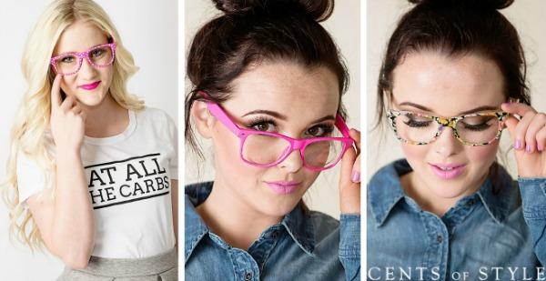 Women's Geek Chic Glasses $7.95 + Free Shipping