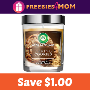 Save $1 On Air Wick Good To Be Home Candle