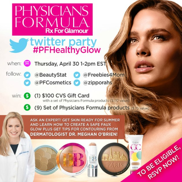 $800 in Prizes at #PFHealthyGlow Twitter Party Apr. 30 1pm ET