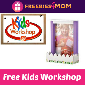Free Kids Workshop at Home Depot May 2