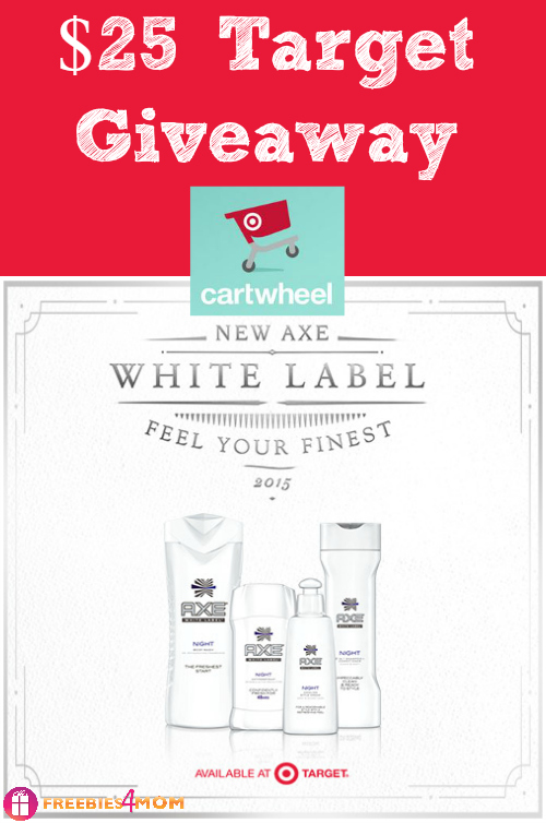 $25 Target Gift Card Giveaway ~ Win & Save with AXE® White Label at Target