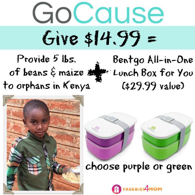 Give $14.99, Get Bentgo ($28.99 value)