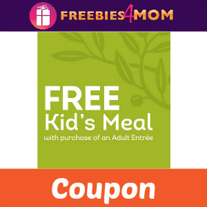 Free Kid's Meal at Olive Garden