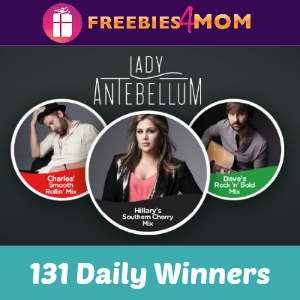 Sweeps Coca-Cola Freestyle/Lady Antebellum