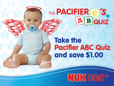 NUK Pacifier Coupon