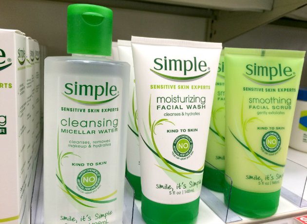Simple Sensitive Skin Experts products