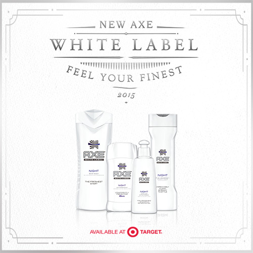 AXE White Label at Target
