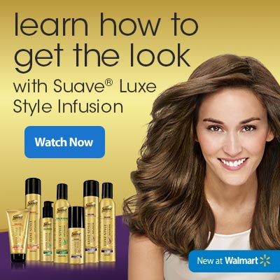 Suave Luxe Style Infusion at Walmart