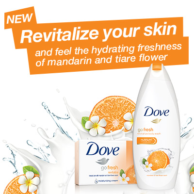 Dove go fresh Body Wash at Walmart