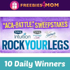 Sweeps Schick Aca-Battle (10 Daily Winners)