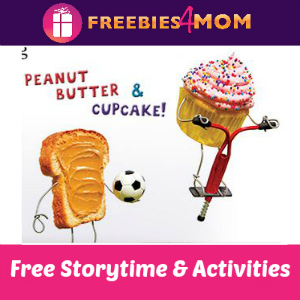 Free Peanut Butter & Cupcake Storytime Saturday