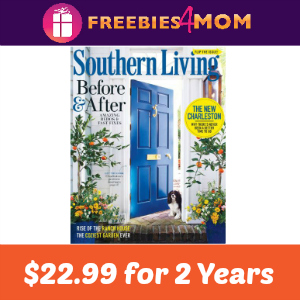 Magazine Deal: Southern Living 2 Years-$22.99