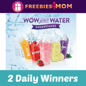 Sweeps Kraft Wow Your Water (2 Daily Winners)