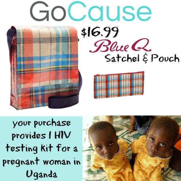 GoCause Deal: $16.99 for Blue Q Satchel & Pouch