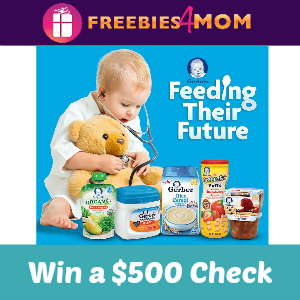 Sweeps Gerber Feeding Their Future