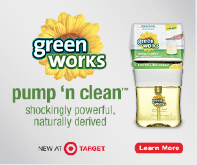 Save on Green Works at Target