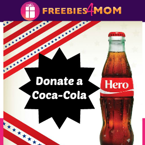 Donate a Coca-Cola to the Troops