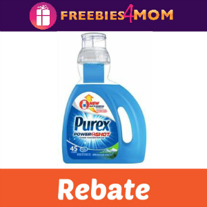 Rebate: Try Purex Powershot for Free