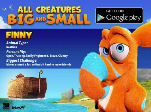Finny from All Creatures Big and Small