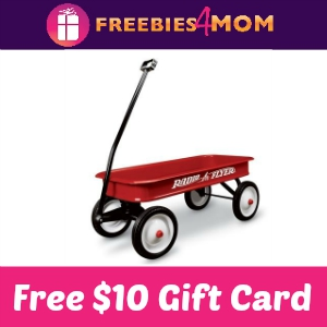 Free $10 Radio Flyer Gift Card