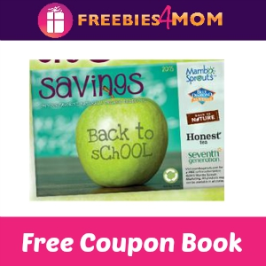 Free Back to School Mambo Sprouts Coupon Book