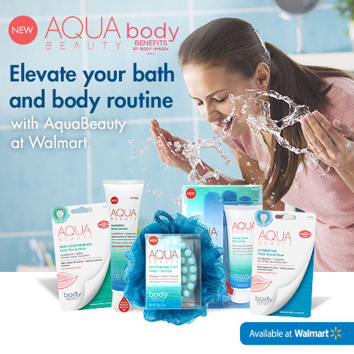 Aqua Beauty Body Benefits by Body Image available at Walmart