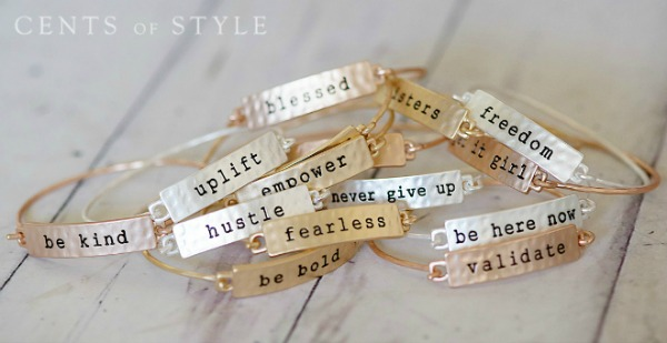 Inspirational Tribe Bracelets $9.95 (+ Necklace Deal)